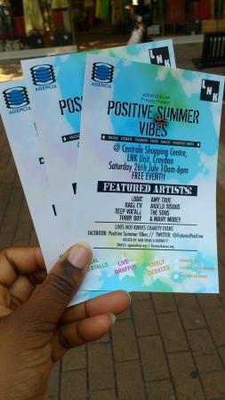 Positive Summer Vibes Leaflets