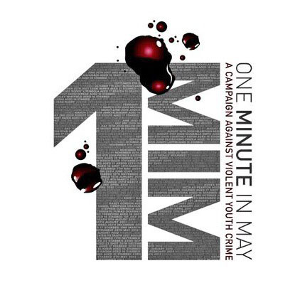 One Minute in May Logo.  Image used with permission.